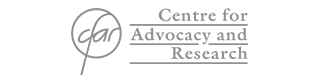 Centre for advocacy and research Logo